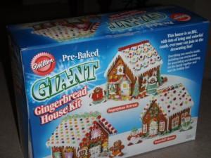 GIANT Gingerbread House Kit